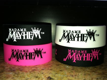 Madame Mayhem Wristband
