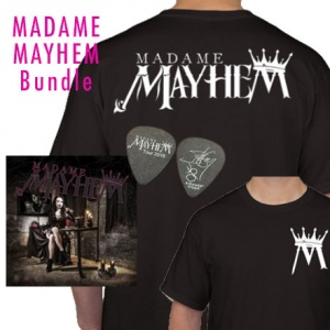 Madame Mayhem Bundle (autographed CD)