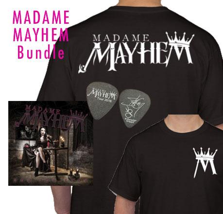 Madame Mayhem Bundle (autographed CD)