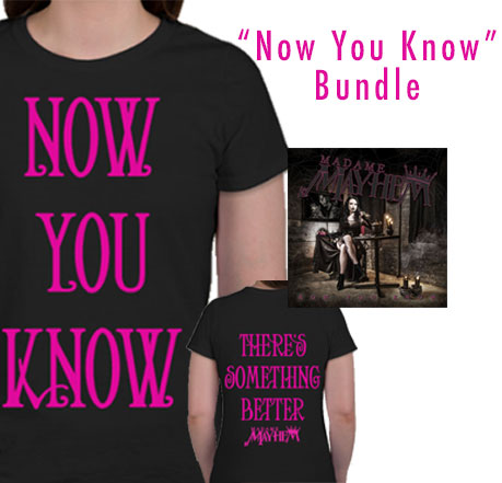'Now You Know' Bundle (autographed CD)